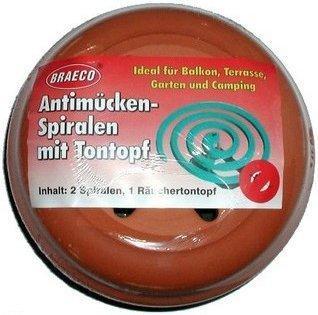 Allpharm Antimuecken Spiralen m. Tontopf (1 Stk.)