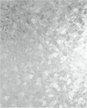 d-c-fix d-c-fix® Static Glasdekorfolie statisch haftend, Splinter 90x150 cm