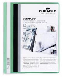 Durable 257905 Angebotshefter DURAPLUS mit Sichttasche, für A4, 25er Packung (2579-05)