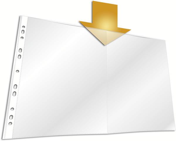 DURABLE Prospekthüllen A3 (267019) 50 Stück