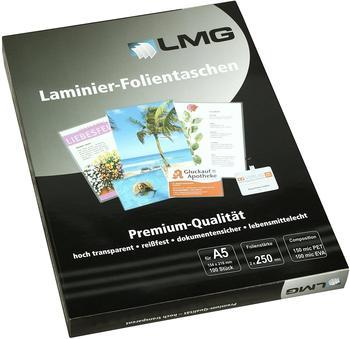 LMG Laminierfolien glänzend für A5,
