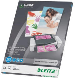 Leitz iLAM UDT A3, 0,1 mm, farblos, glänzend 100 Stück(e)