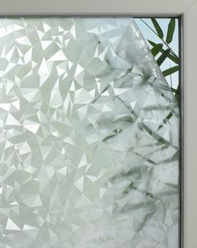 GARDINIA Fensterfolie Graphic 50, GARDINIA, halbtransparent 45 cm x 150 cm