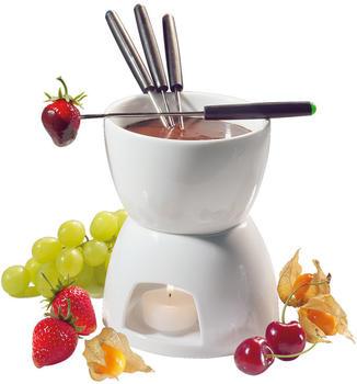 Cilio Schokoladen-Fondue-Set 10-tlg.
