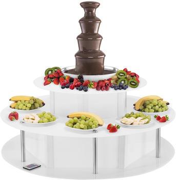Catering Royal Schokoladenbrunnen Set - 4 Etagen - 6 kg