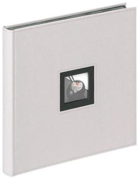 walther design Classicalbum Black & White 30x30/50 grau