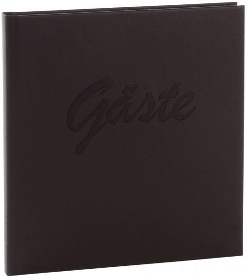 Goldbuch Gästebuch Roma 23x25/176 schwarz