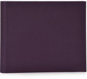 Goldbuch Gästebuch Linum 29x23/50 brombeere