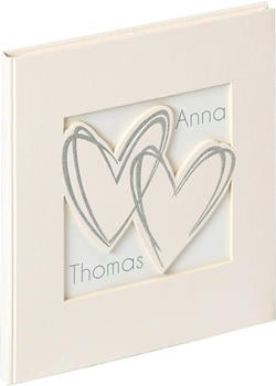walther design Gästebuch With All My Heart 23x25/72
