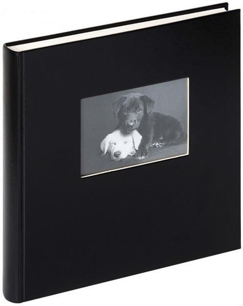 walther design Buchalbum Charm 30x30/50 mit Ausstanzung schwarz