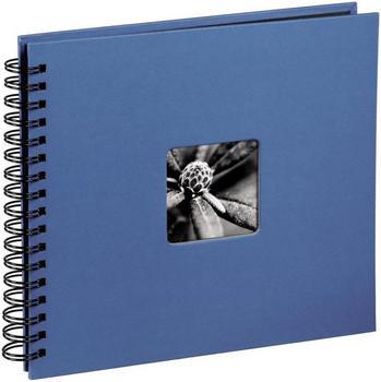Hama Spiralalbum Fine Art 36x32/50 azur (schwarze Seiten)