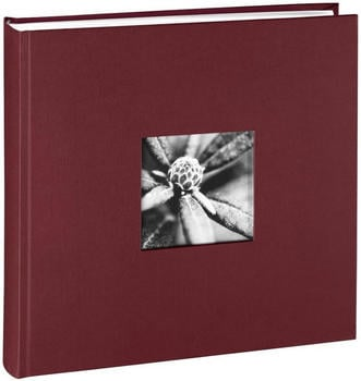 Hama Jumbo Fotoalbum Fine Art 30x30/100 bordeaux (weiße Seiten)