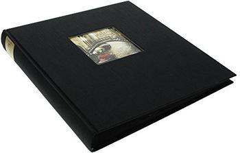 Goldbuch Fotoalbum Bella Vista 30x31/60 schwarz (schwarze Seiten)