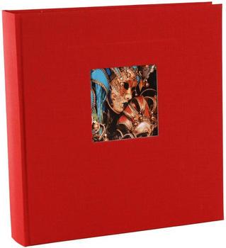 Goldbuch Fotoalbum Bella Vista 30x31/60 rot (schwarze Seiten)