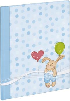 Hama Baby-Tagebuch Kleiner Hase 20x28/44 blau