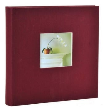 goldbuch-fotoalbum-bella-vista-25x25-60-bordeaux