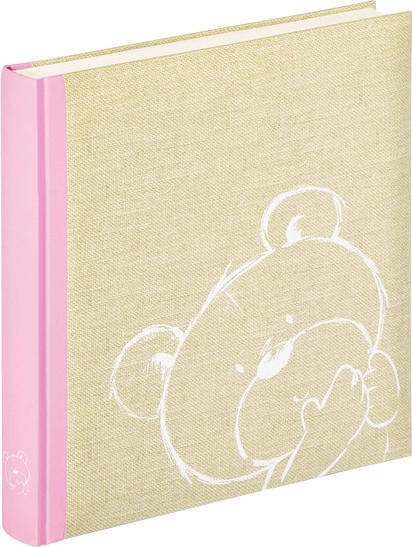 Walther-Werke Babyalbum Dreamtime 28x30,5/50 rosa