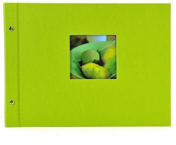 Goldbuch Schraubalbum Bella Vista 39x31/40 grün (weiße Seiten)