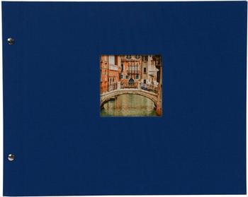 Goldbuch Schraubalbum Bella Vista 39x31/40 blau (weiße Seiten)