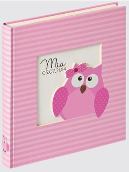 walther design Babyalbum Owlet 28x30,5/50 pink