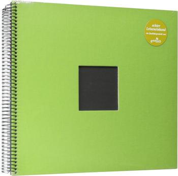 Goldbuch Spiralalbum Bella Vista mit Bildausschnitt 34x30/40 grün