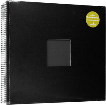 Goldbuch Spiralalbum Bella Vista mit Bildausschnitt 34x30/40 schwarz