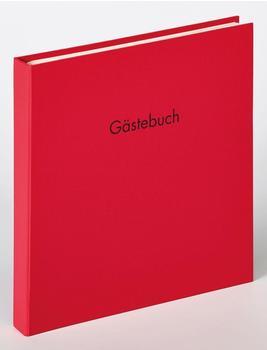 walther design Spiral-Gästebuch Fun 26x25/50 rot