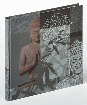 home-affaire-buchalbum-buddha-26x25-40-grau