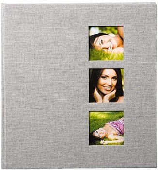 Goldbuch Fotoalbum Style 30x31/60 grau