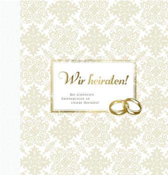 Compact Gästebuch Wir heiraten