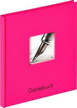 walther design Gästebuch Fun 23x25/72 pink