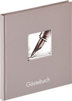 walther design Gästebuch Fun 23x25/72 grau
