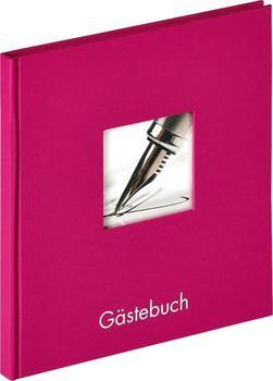 walther design Gästebuch Fun 23x25/72 violett