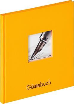 walther design Gästebuch Fun 23x25/72 maisgelb