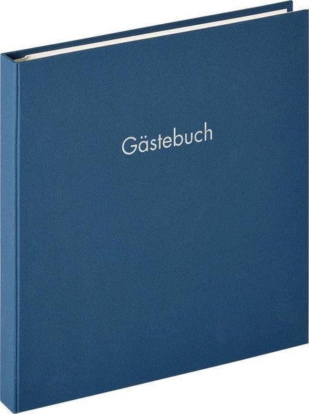 walther design Spiral-Gästebuch Fun 26x25/50 blau