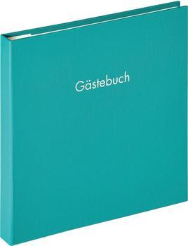 walther design Spiral-Gästebuch Fun 26x25/50 petrolgrün