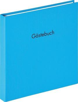 walther design Spiral-Gästebuch Fun 26x25/50 oceanblau