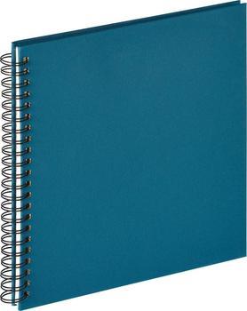 walther design Spiralalbum Fun 30x30/50 (ohne Ausschnitt) blau