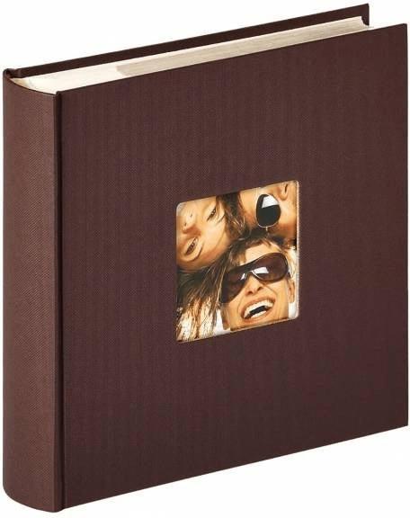 walther design Memoalbum Fun 10x15/200 dunkelbraun