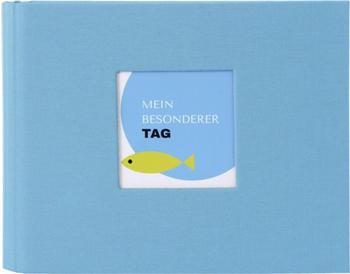 Goldbuch Fotoalbum Primavera 25x20/40 blau
