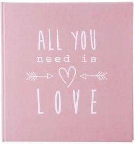 Goldbuch Fotoalbum All you need is Love 30x31/60 altrosa
