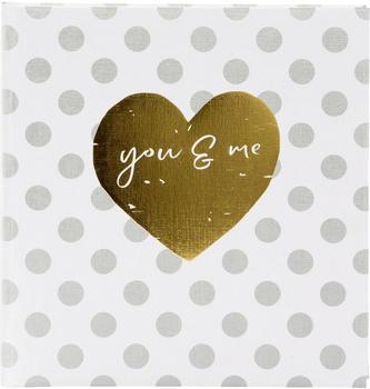 Goldbuch Fotoalbum you & me forever 30x31/60