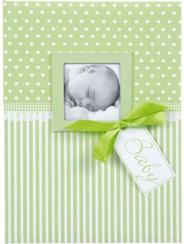Goldbuch Babytagebuch Sweetheart 21x28/44 grün