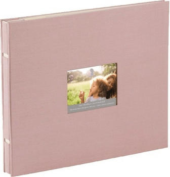 Rössler Papier Fotoalbum Memories 28x24/30 rose
