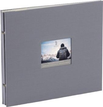 Rössler Papier Fotoalbum Memories 28x24/30 grau
