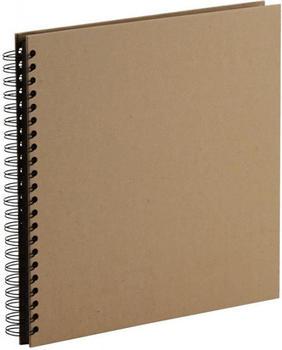 Rössler Papier Fotospiralbuch Soho 29x29/60 kraft