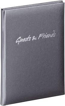 PAGNA Gästebuch Guests & Friends grau