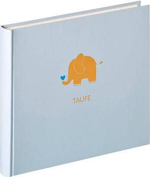 walther design Taufalbum Baby Animal 28x25/50 blau