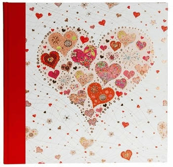 Goldbuch Hochzeitsalbum Big Heart rose 30x31/60