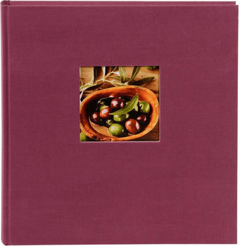 Goldbuch Fotoalbum Bella Vista 25x25/60 fuchsia